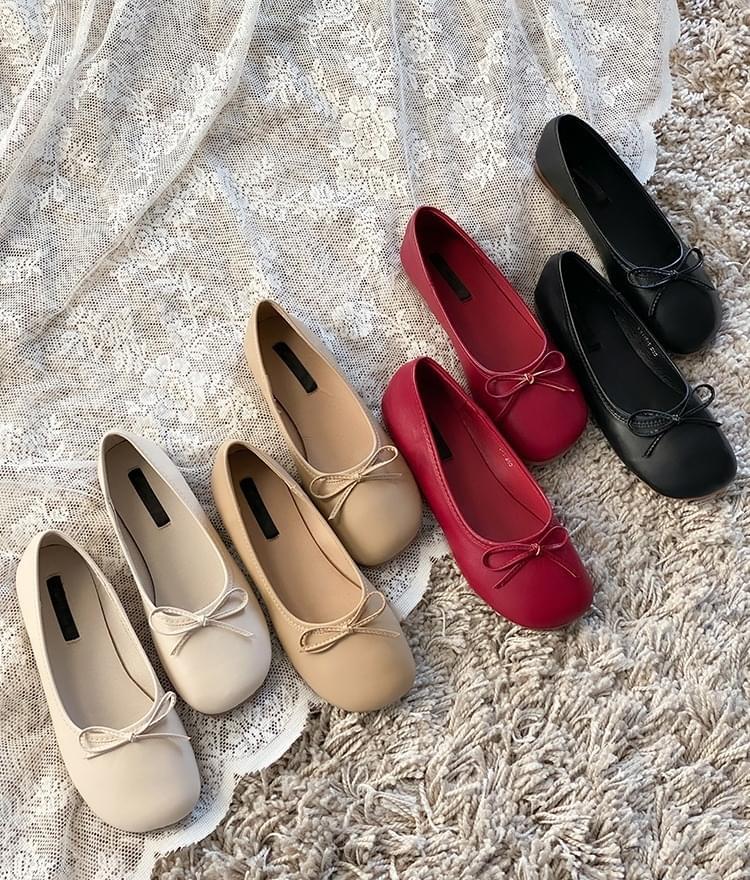 Franc ribbon flat shoes 平底鞋