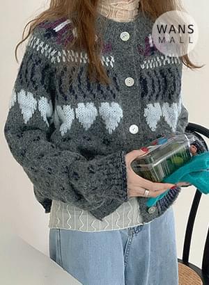 cd3357 Winters Knit Cardigan