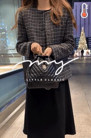 My-littleclassic/ Gloria Ultweed Half Jacket