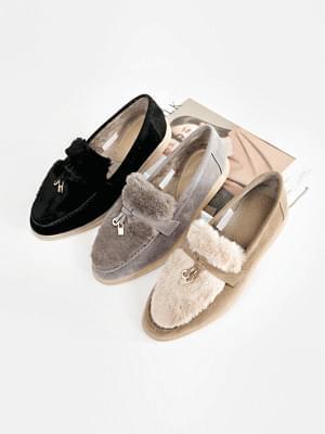 Pienta fur loafers 2cm 樂福鞋