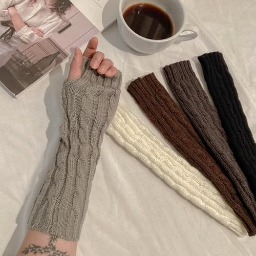 Twisted Knitwear Hand Warmer A # YW009