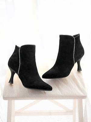 Setitz leather ankle boots 8cm 靴子