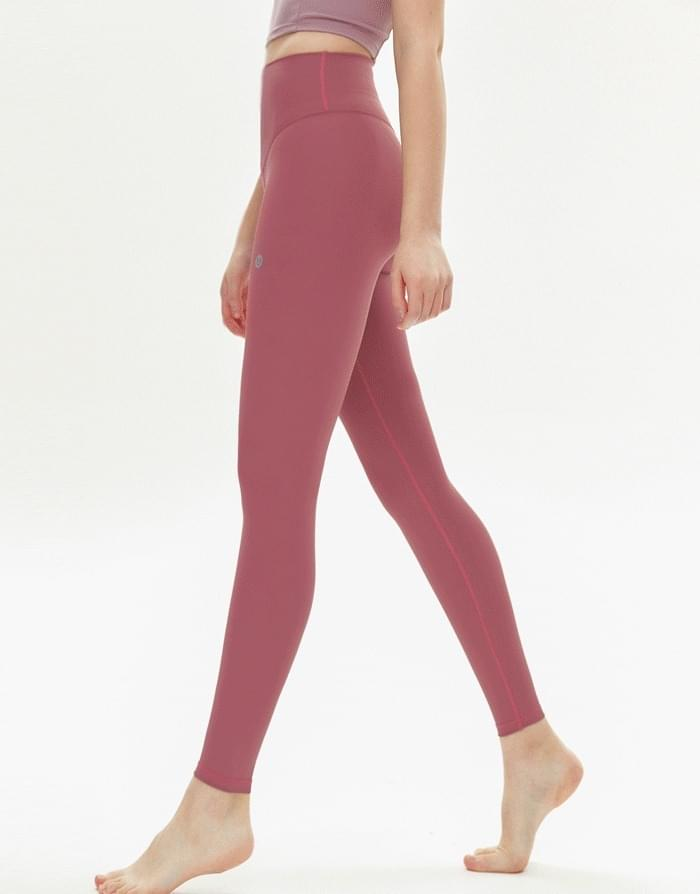 High Tempo Basic Leggings_Deep Pink