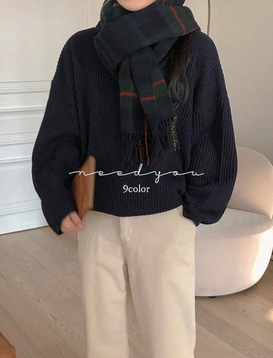 Nijo Ribbed Knitwear