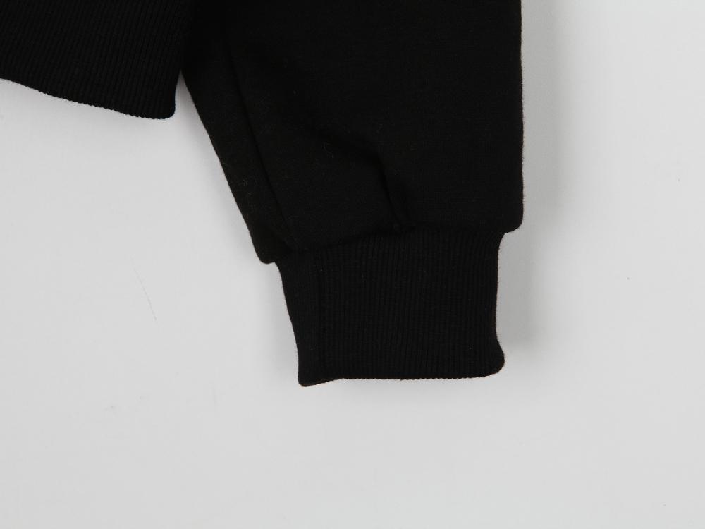 Cruff Half Zip Up Sweatshirt
