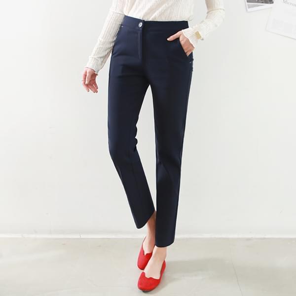 Good Pants 42 Tan/Stitch Neping Banding Slacks #73266