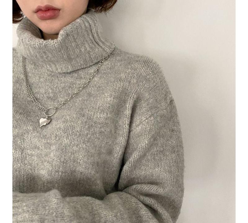 kn3052 Doing Turtleneck Sweater