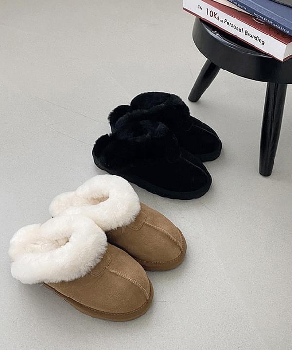 Cowhide Real Fleece Ug Sleeper 2color