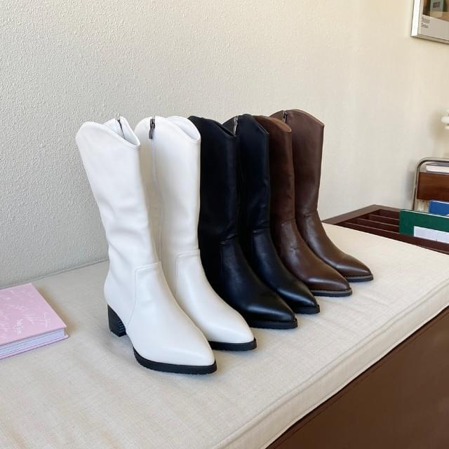Middle Western Boots4.5cm
