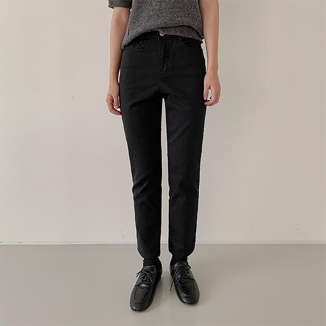 Melrose Fleece-lined cotton pants