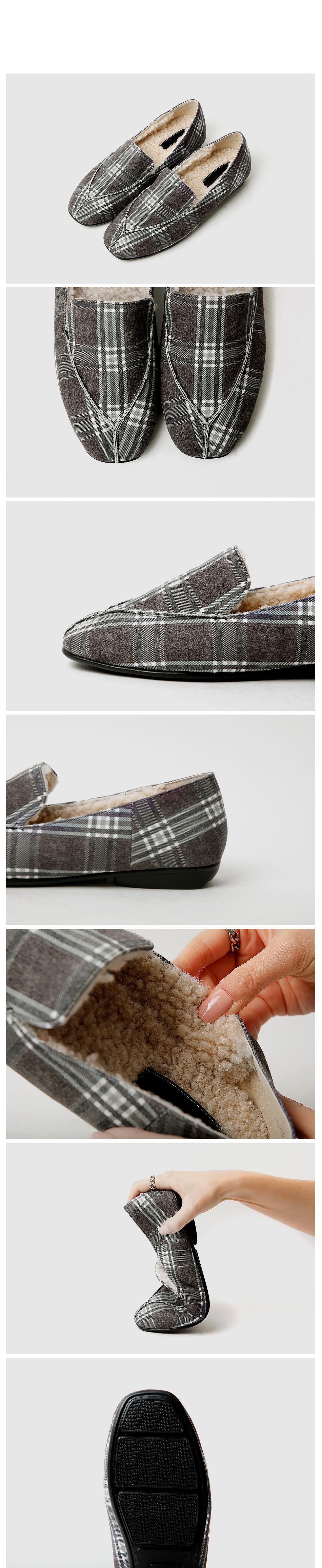 Aceve Real Fur Loafers 2cm