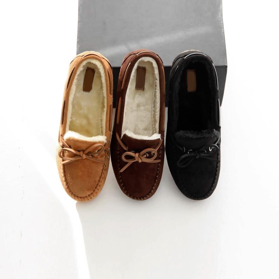 Mebitz fur loafers 1cm
