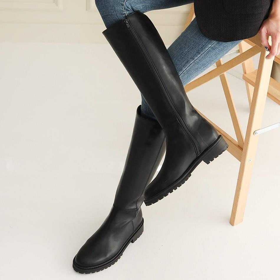 Tesir long boots 3cm ブーツ