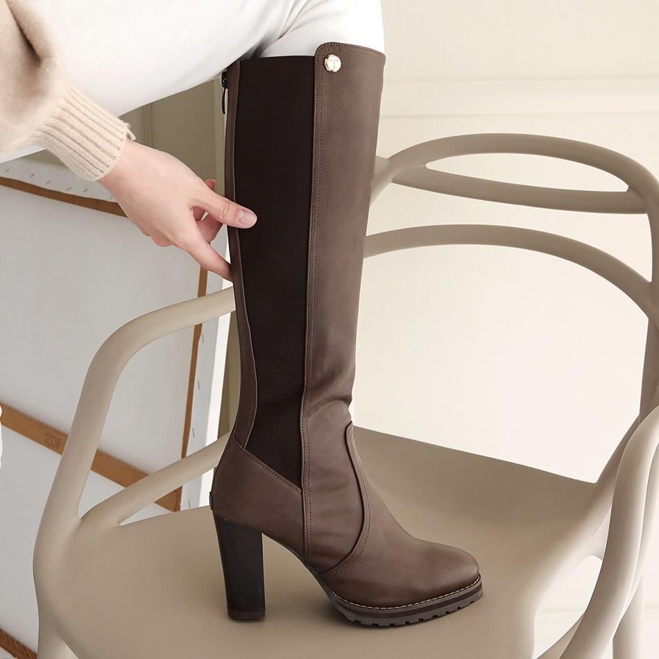 Lechens Chelsea Long Boots 9cm
