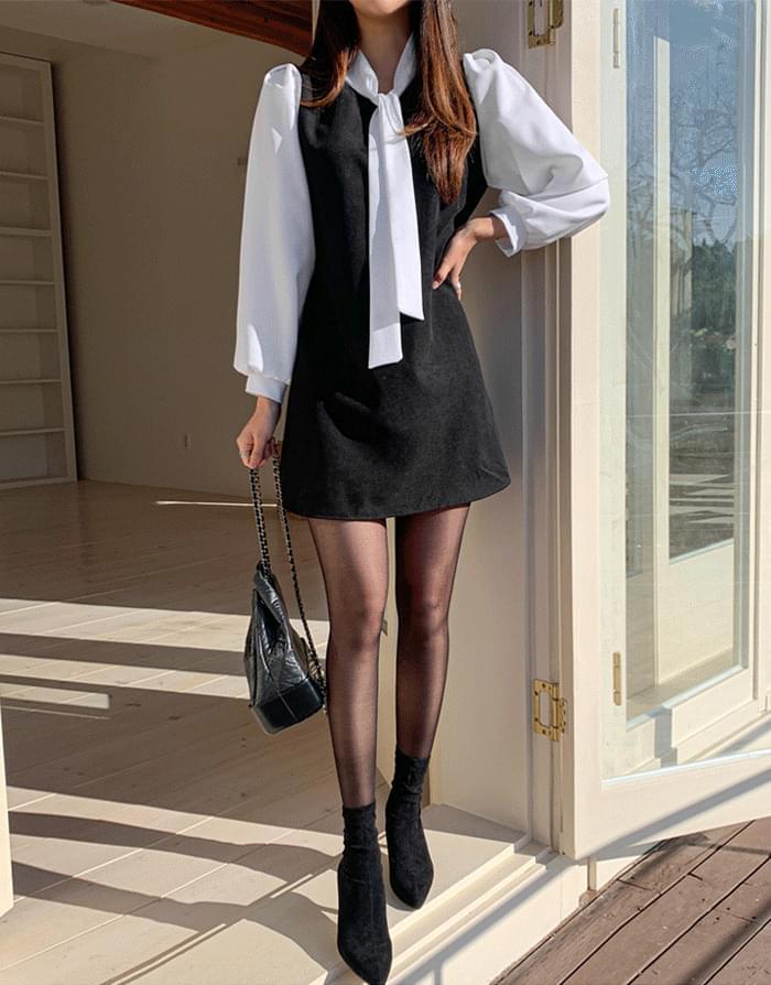 Fabric bone dress