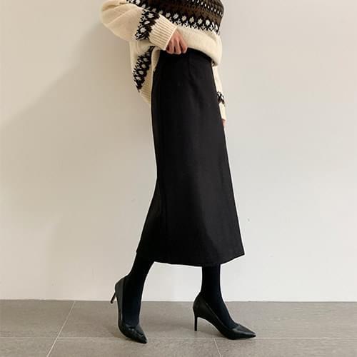 Emma slit skirt