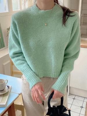 韓國空運 - Way Crop Knit 針織衫