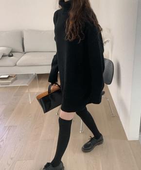 Eleanor wool knit dress