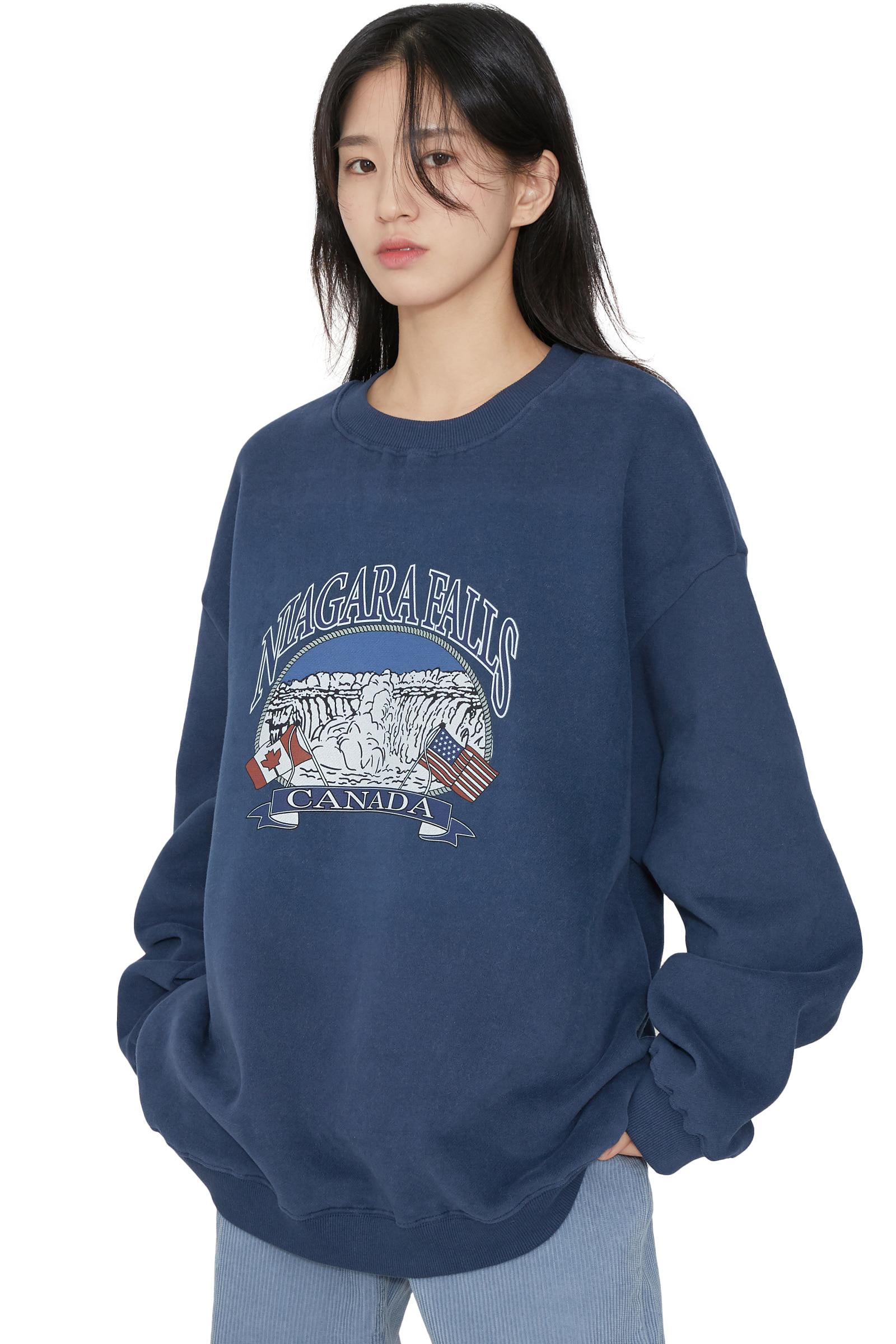 Niagara Fleece-lined crew neck sweatshirt