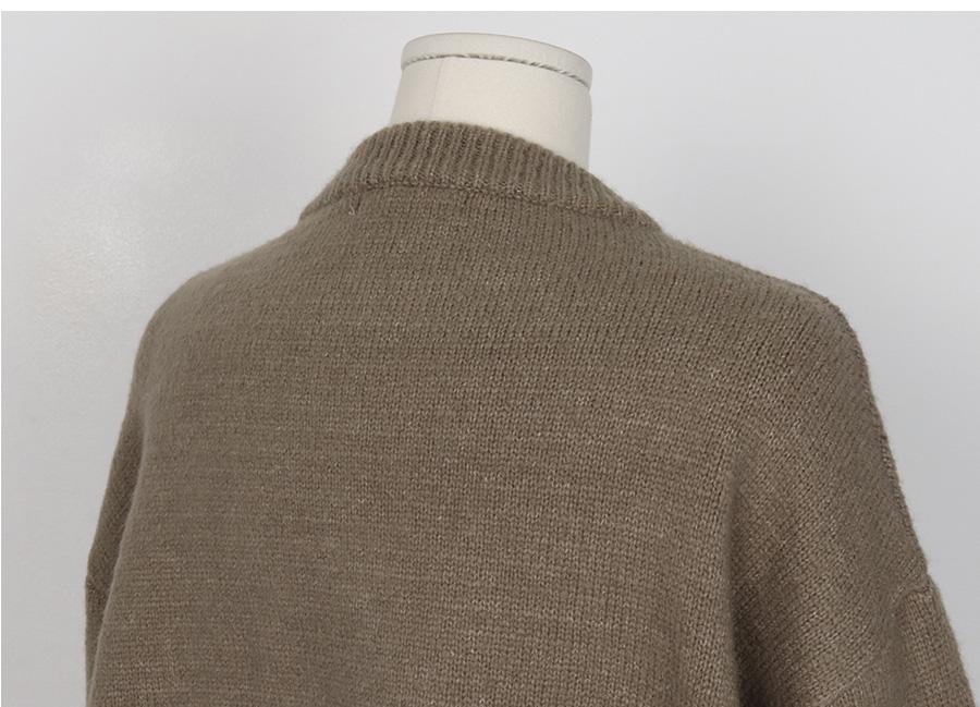 Madeleine soft round knit