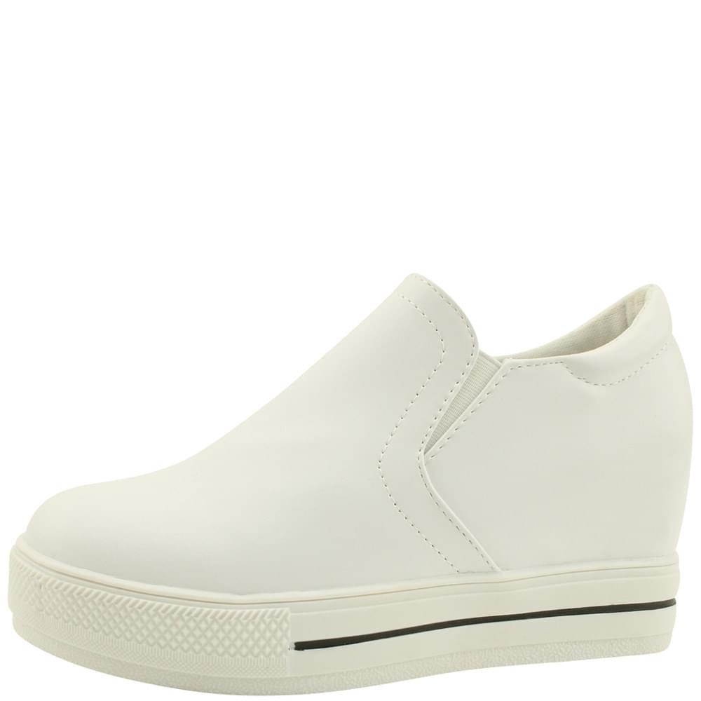Heel slip-on 7cm white