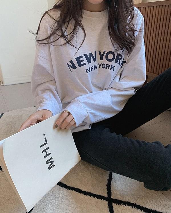 New York lettering t-shirt