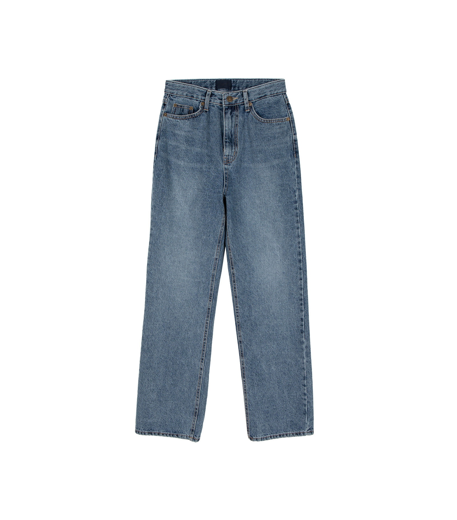 Steel Faded straight jeans