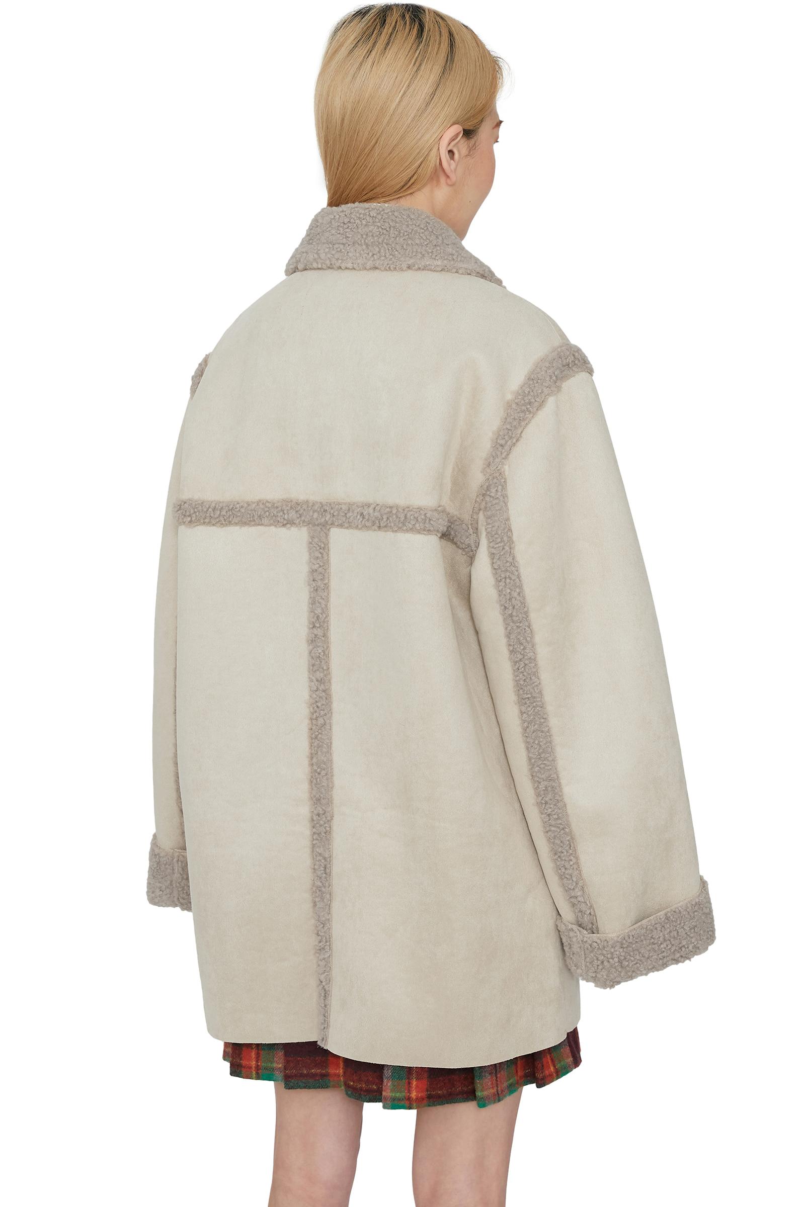 Alex shearling mustang coat