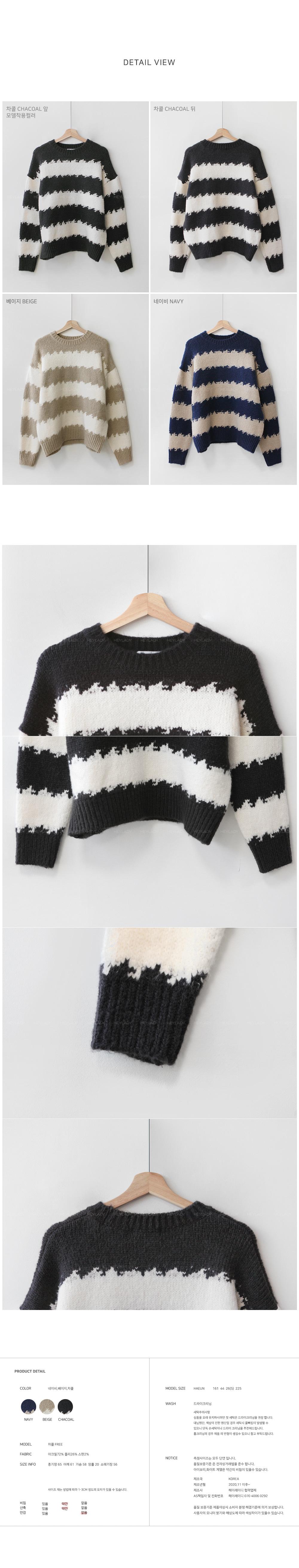 Hardwick Striped Knitwear