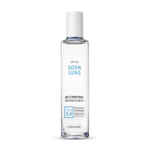Etude House Pure Weak Acid 5.5 Calming Toner 200ml #Skincare