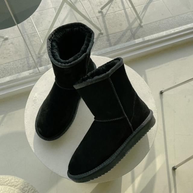 Mild middle ugg boots