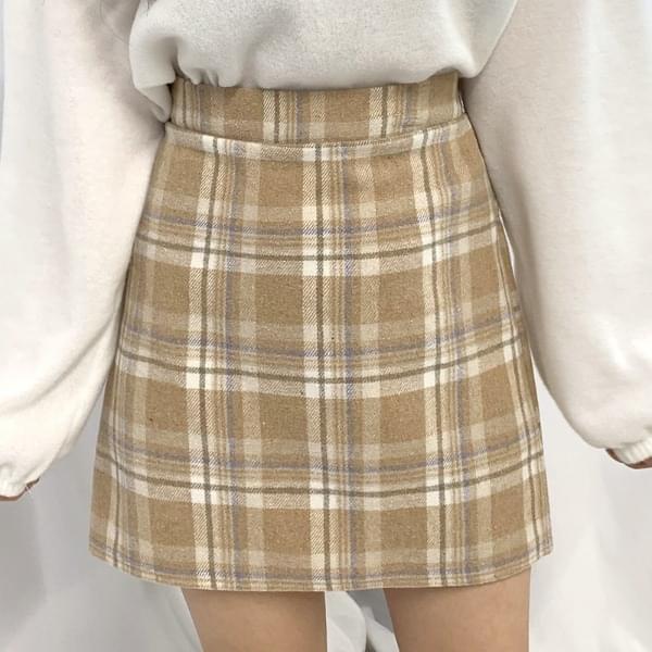 Snow check skirt