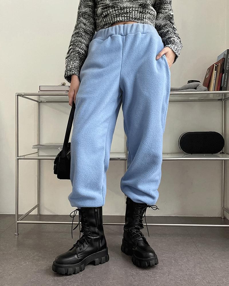 It's Fleece-lined fleece jogger pants