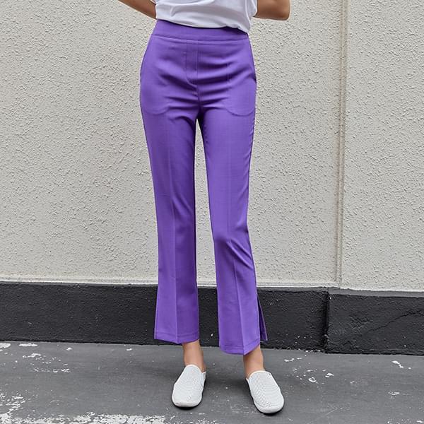 Good Pants 93 Tan/Cool Split Flared Pants #75822