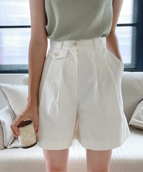 Paul Pintuck cotton half pants