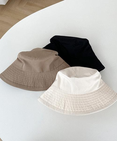 Daily cotton bucket hat