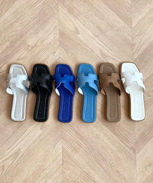 Gandhi cowhide slippers