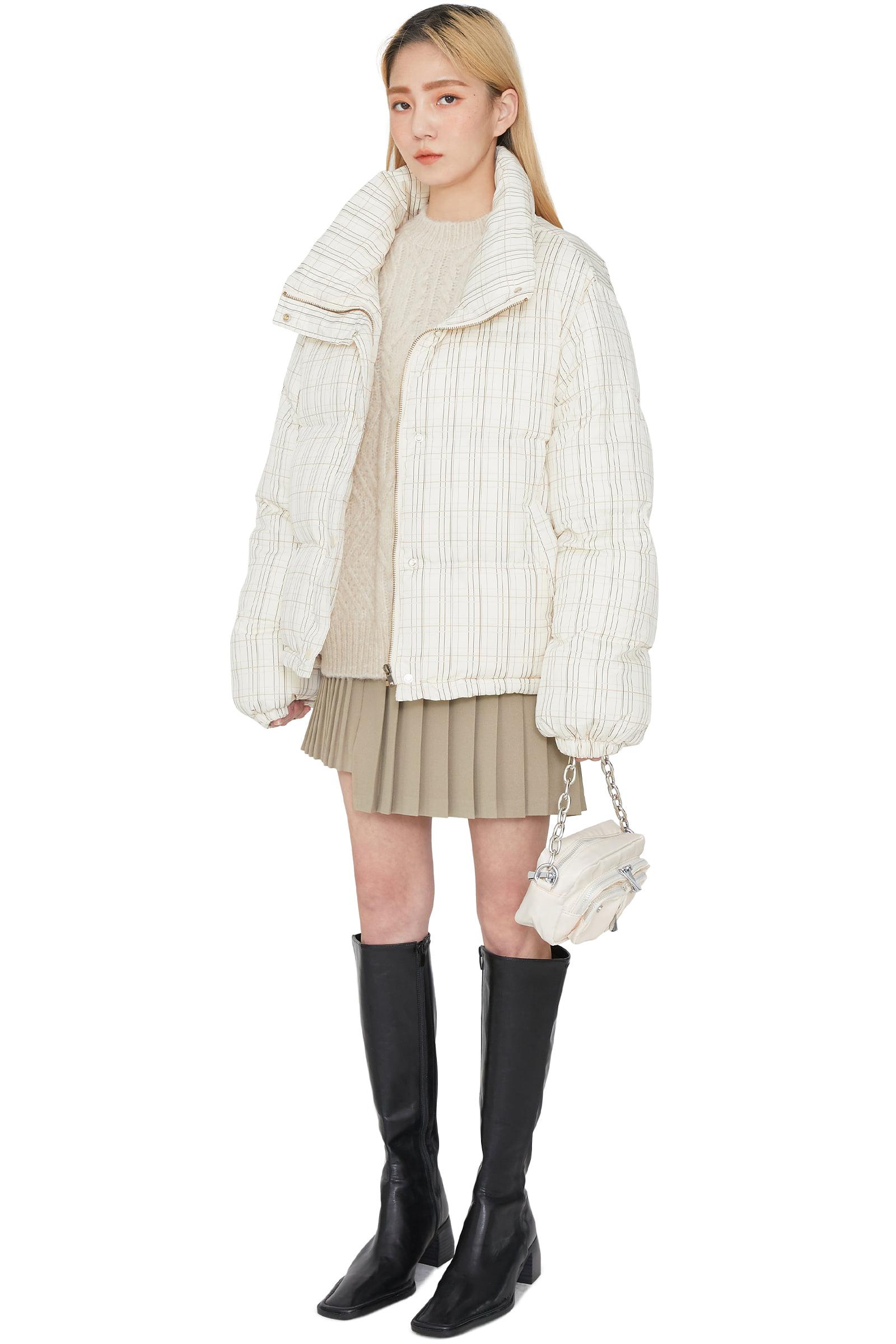 Rose Unfoot Tennis Mini Skirt
