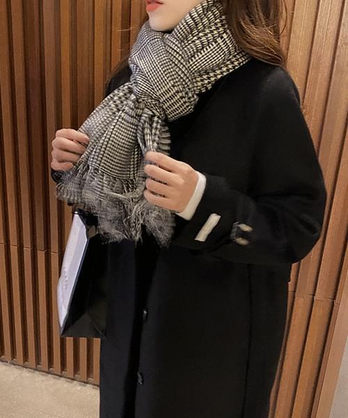 Hidden Button Handmade Coat-Wool 90 大衣外套