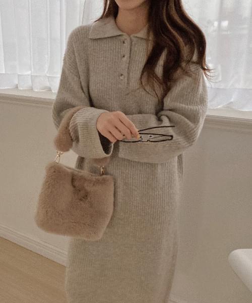 Noble Fur Bag-3color