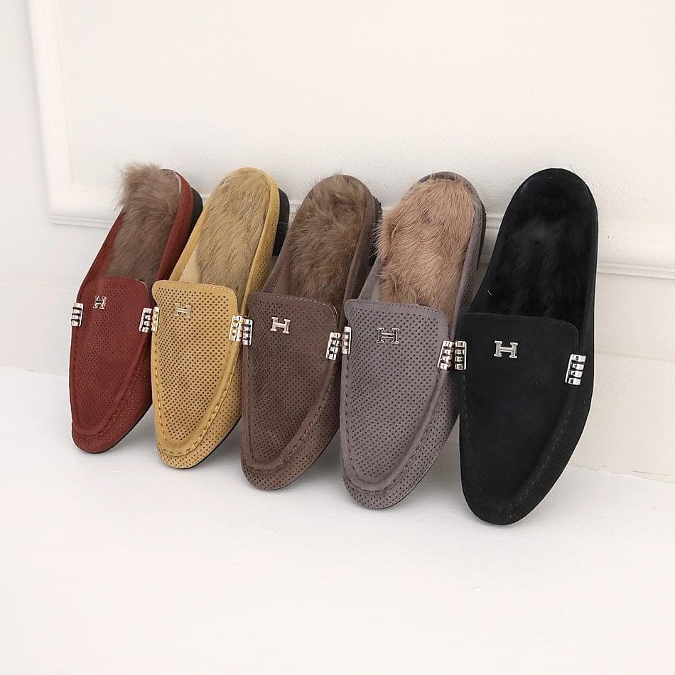 Hetties Real Fur Blocker 2cm