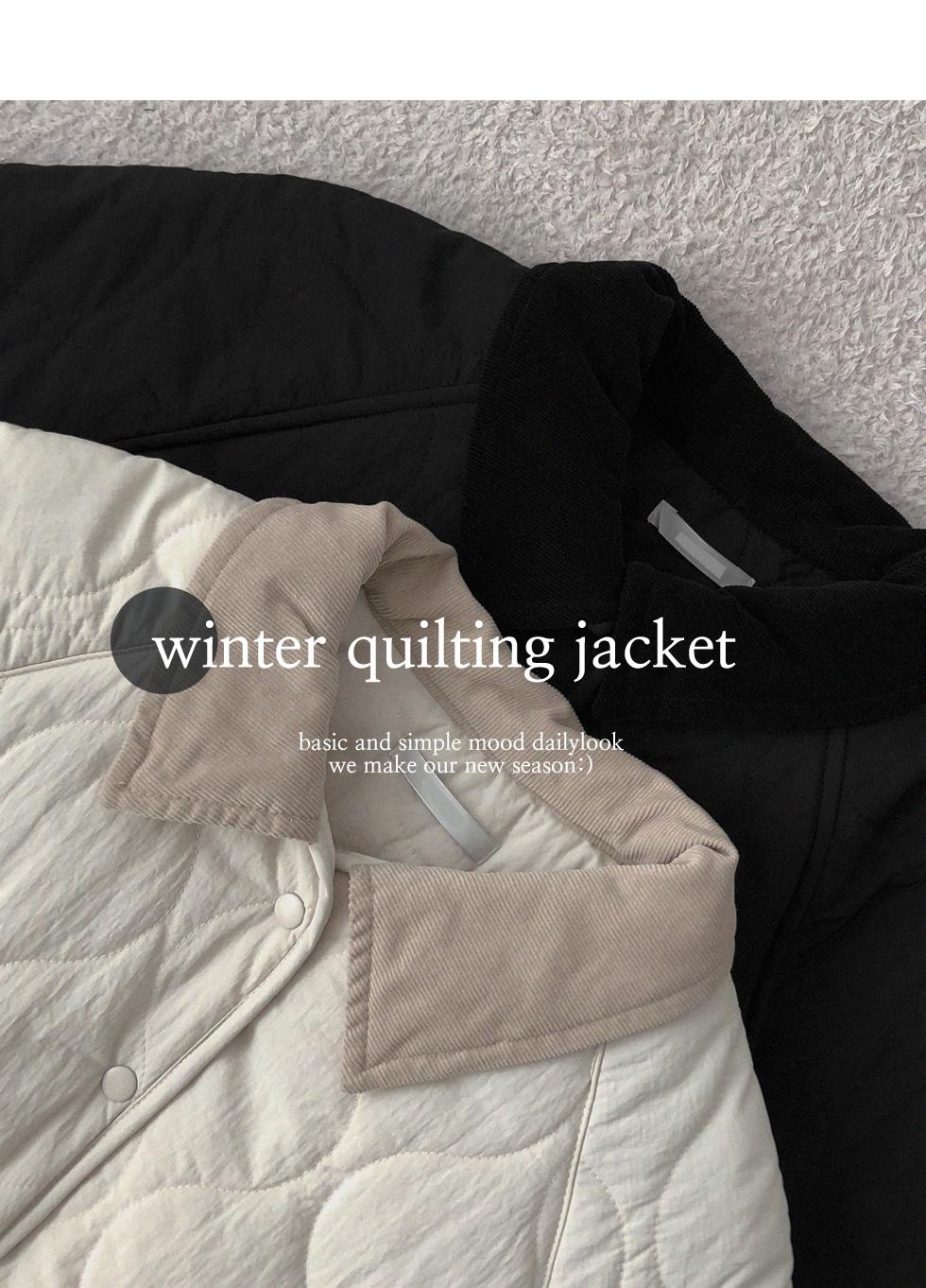 Sobernoubeam padding jacket