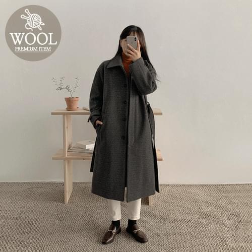 Bocay Wool Hidden Single Coat