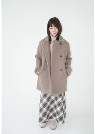 韓國空運 - lazy boucle double coat 大衣