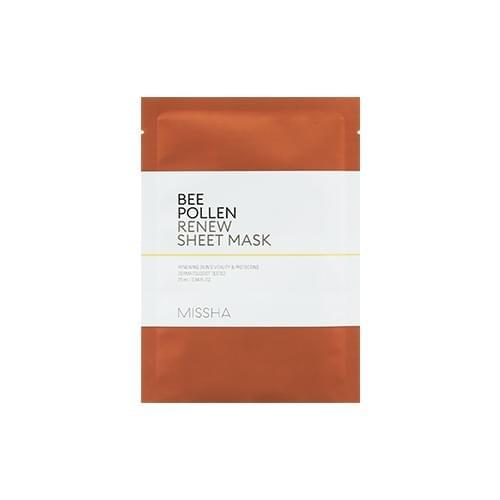 MISSHA Bee Pollen Sheet Mask 25ml #Skincare