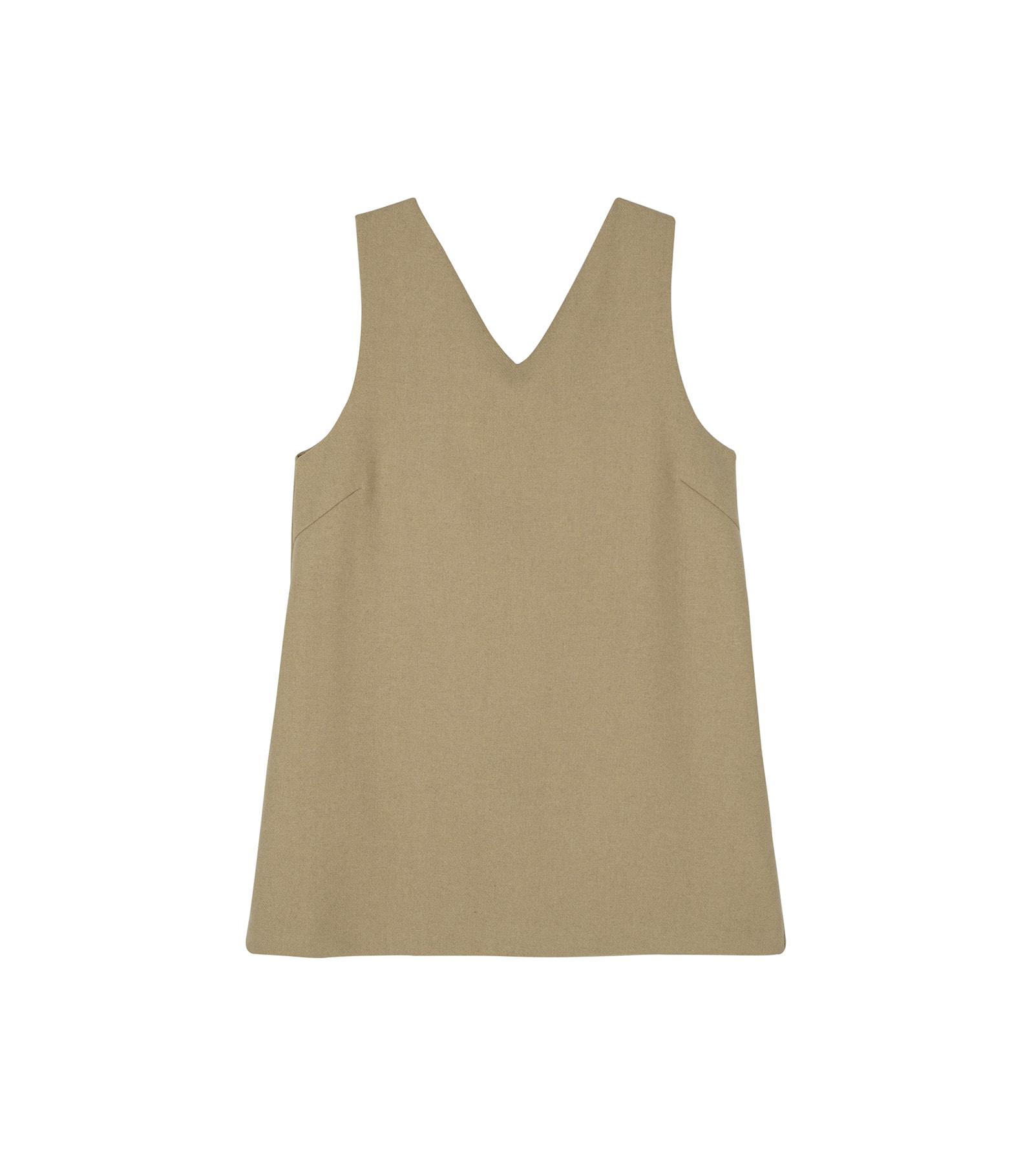 Life v-neck mini dress