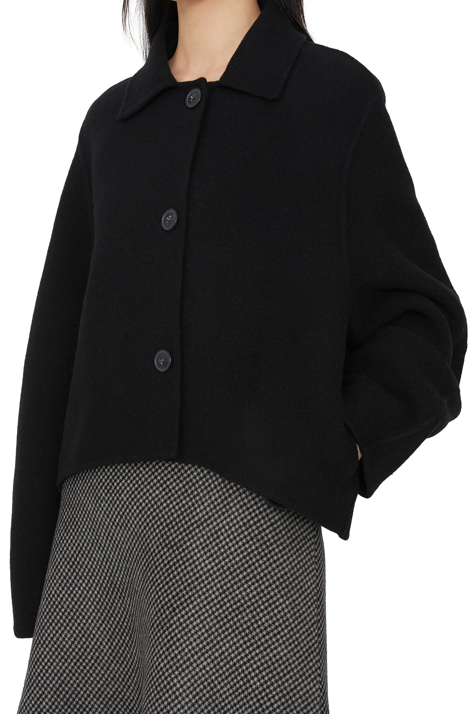 Rounding handmade short coat