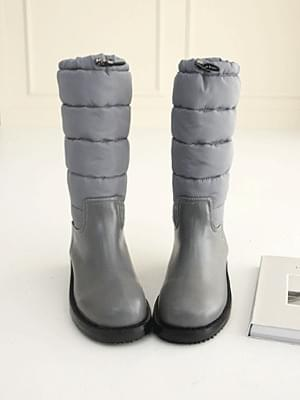 Midle padded middle boots 4cm