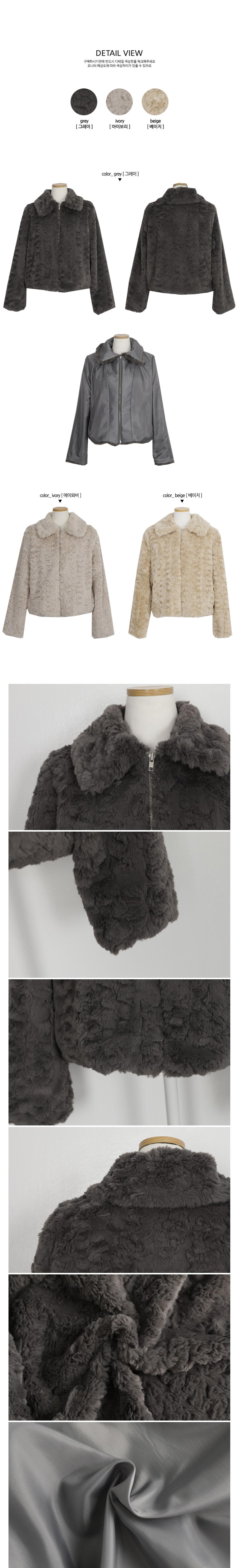 Carol fur jacket