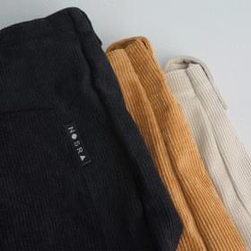 North pocket corduroy crossbody bag